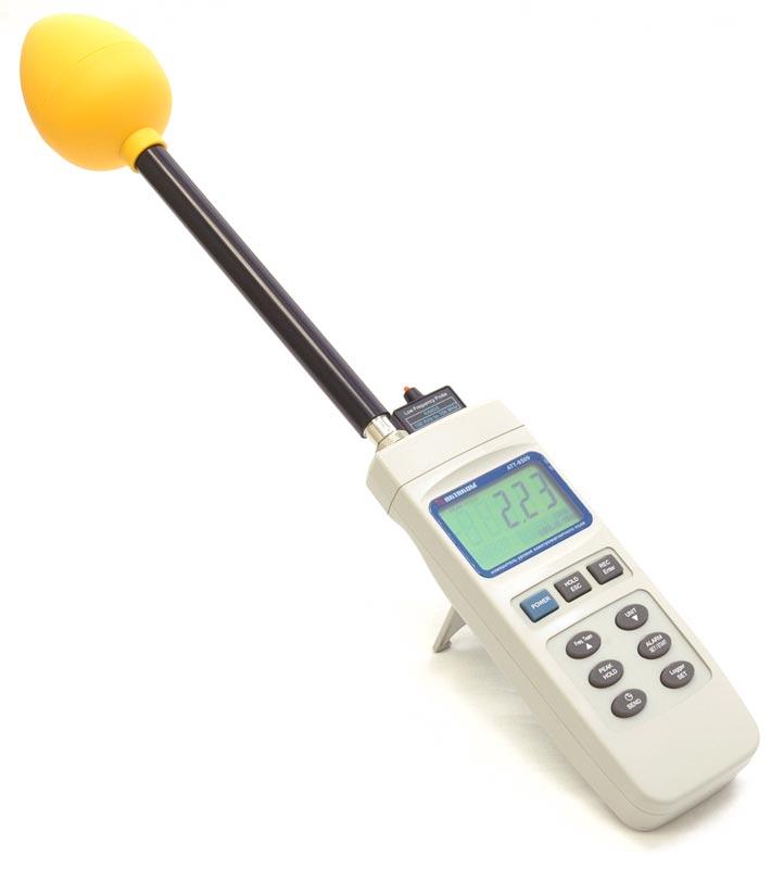 Измеритель уровня электромагнитного поля АТТ-8509 - с трехосевым датчиком