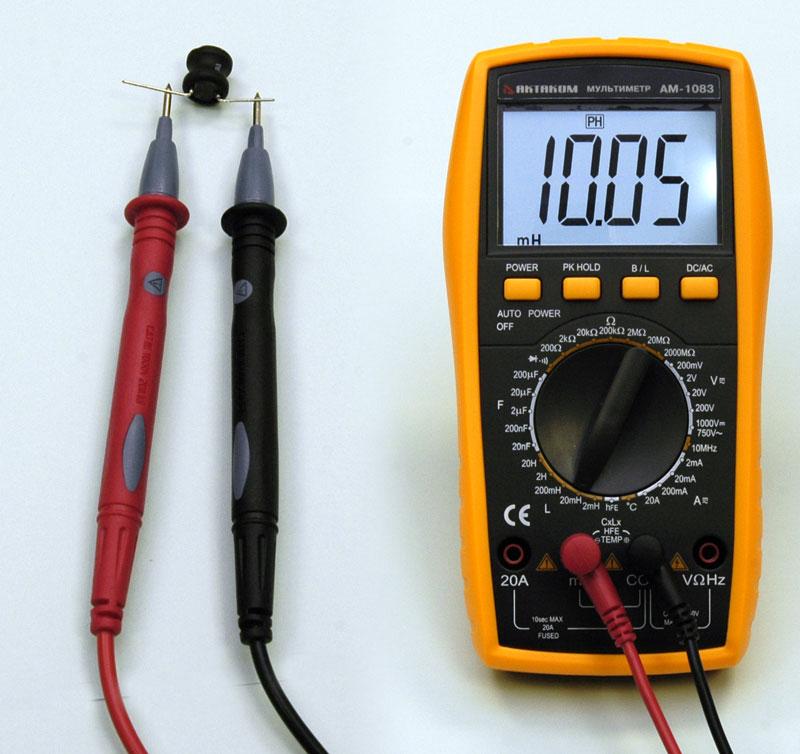 Приставка к мультиметру измеритель индуктивности