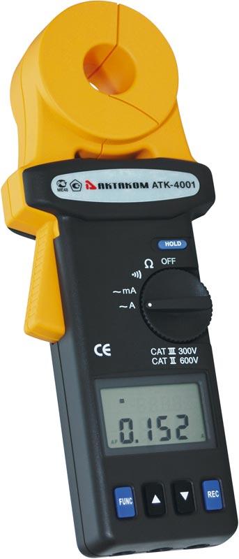 Токовые клещи АТК-4001