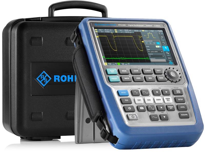 Эксклюзивные комплекты портативных осциллографов RTH1002 PLUS и RTH1004 PLU