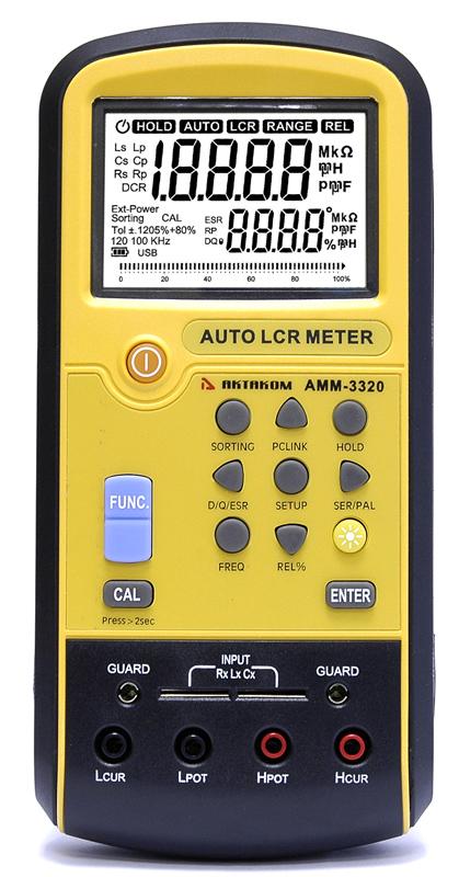 АММ-3320 - Передняя панель
