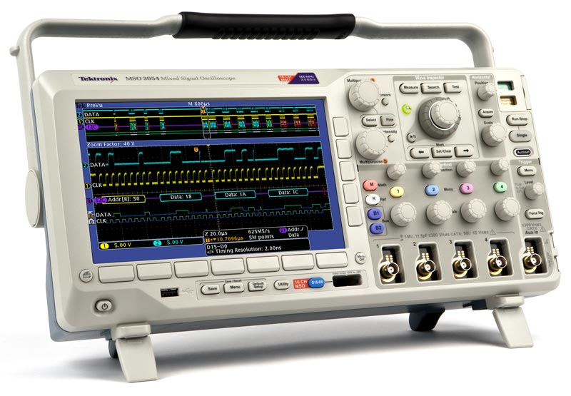 Осциллограф цифровой MSO3012