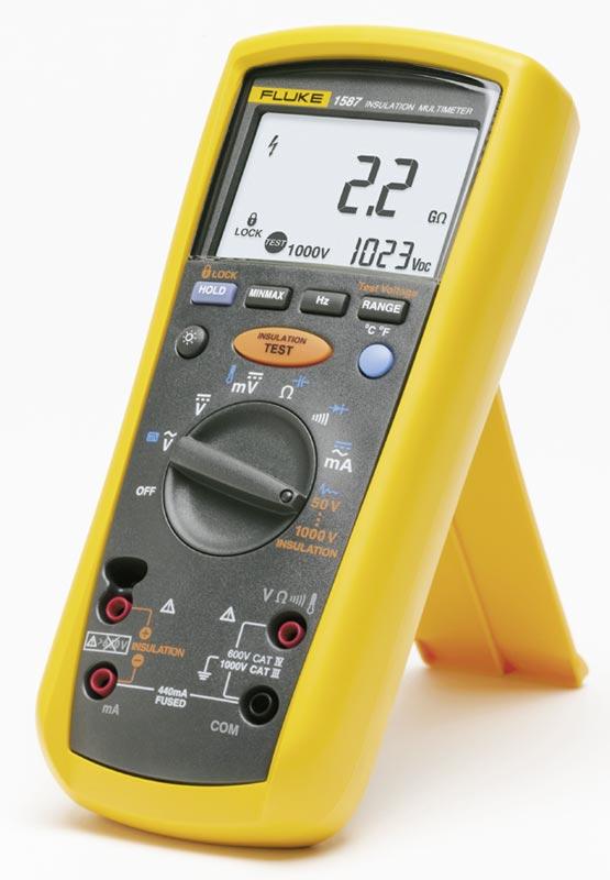 Мультиметр-мегомметр Fluke-1587