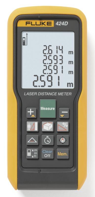 Дальномер лазерный Fluke-424D