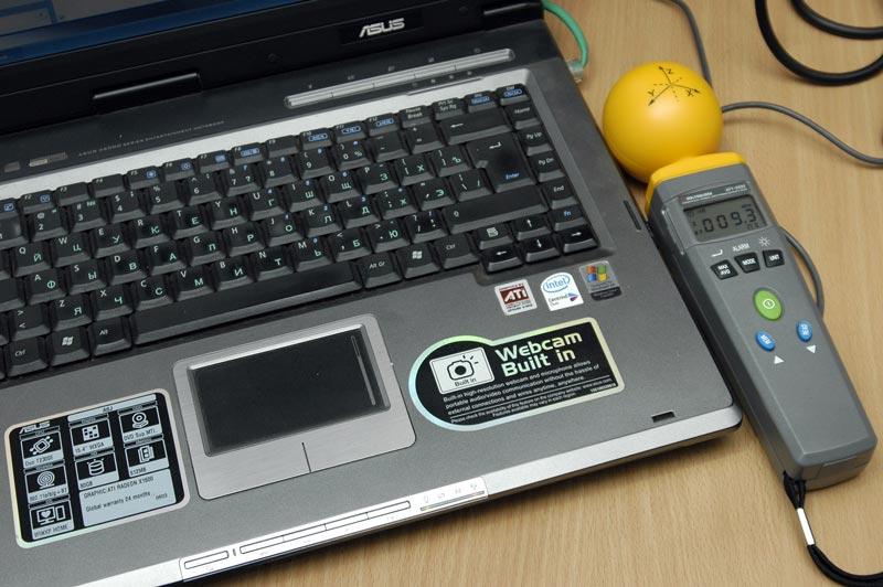 Измеритель уровня электромагнитного фона АТТ-2592 - Измерение напряженности электрического поля ПК с выключенным Wi-Fi (