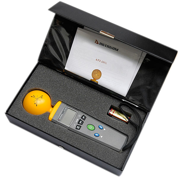 Измеритель уровня электромагнитного фона АТТ-2592 - в кейсе