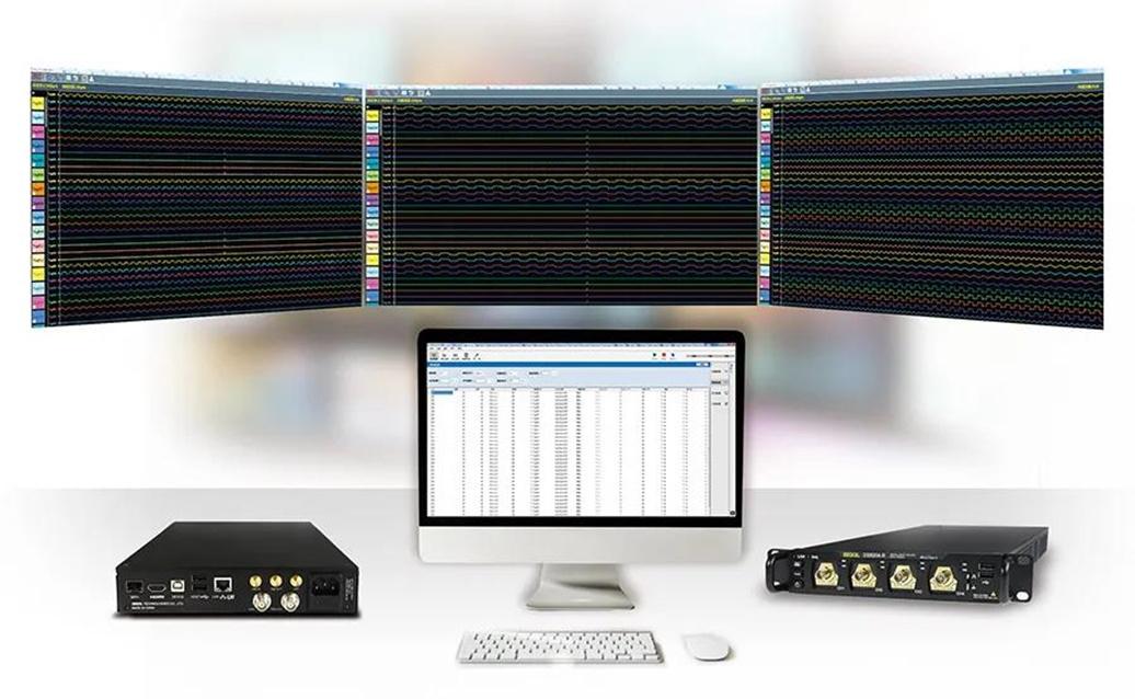 UltraDAQ-Lite может одновременно управлять четырьмя осциллографами